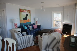 Seaside livingroom